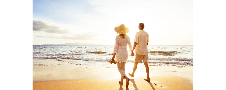 walking on beach pic